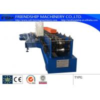 Buy cheap Container Room Bracket Rack Roll Forming Machine Make 1.5-2.0 MM Thickness Used from wholesalers