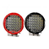 Quality 185W 9 Inch Led Car Spotlights , IP 68 Round Led Spot Light Fixtures for sale