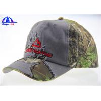 Quality 70% Cotton 30% Polyester Camo Baseball Caps for sale