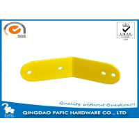 Quality Yellow Powder Coated Steel Frame Metal Post Brackets For Monkey Bar for sale