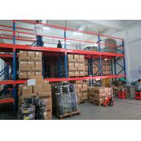 Quality High Density Industrial Mezzanine Systems Under With Medium Duty Rack / Heavy Duty Rack for sale