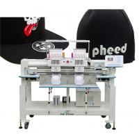 Quality twin heads cap computerized embroidery machine for sale