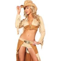 Quality Wholesale Country Girl Costume Ravishing Rancher Cowgirl Halloween Christmas Carnival for sale