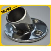Quality Boat Hand Rail Fitting-30 Degree Round Base,Marine Stainless Steel for sale