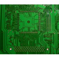 Quality Lead free HASL green solder mask single side pcb board HTG 150 - 180 V-cut 45°, 60° for sale