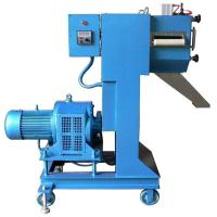 Quality Low Noise Plastic Pellet Extruder Machine / Granulation Equipments For Waste Filament Cutting System for sale