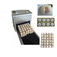 Quality Six Nozzles At The Same Time Printing High Efficiency Eggs Ink-Jet Printing Machine for sale