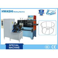 Quality Iron Wire Butt Welding Machine New Condition Welding Ring / Square Wire Frame for sale
