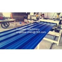 Quality durable high strength PVC color steel roof tile machine/production line for sale