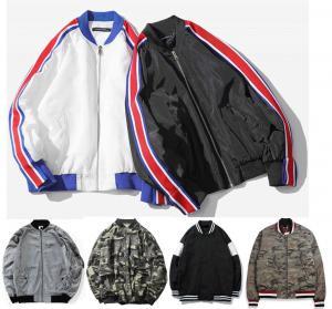 Quality Fashion Mens Plus Size Bomber Jacket , Varsity Style High School Bomber Jacket for sale