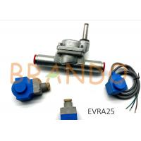 Quality 032F6225 EVRA 25 Ammonia R717 NH3 Servo Operated Piston Refrigeration Solenoid Valve With Zinc Coating for sale