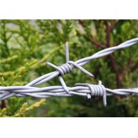 Quality Barbed Wire Fencing I 1320 ft. 4 PT 12-1/2GA Galvanized With Two / Four Point for sale
