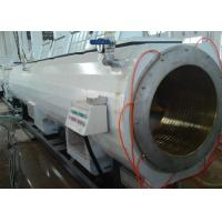 Quality Twin Screw Customized PVC Pipe Extrusion Line With High Speed And Capacity for sale