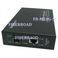 Quality 10G Media Converter Fiber-To-Copper for sale