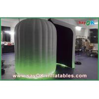 Quality Green Inflatable Photo Booth With LED Light For Commercail Advertising for sale