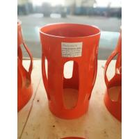 3 Section Structure Spiral Glider Centralizer , Red Pipe Centralisers for sale
