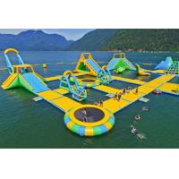 Buy Giant Inflatable Water Park Games /  Harrison Exciting Aqua Park Equipment For Adults or Kids at wholesale prices