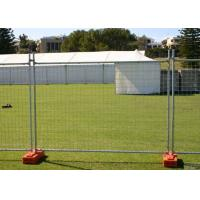 Quality Steel Austrilia Portable Temporary Fencing 2.4x2.1 Meter Customized for sale