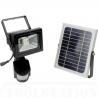 Buy cheap PIR Motion Sensor 10W Solar LED Flood lights 950Lm DC 12V 6600mAh 140 degree from wholesalers