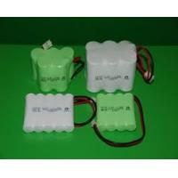 Quality Environmental Nicd Rechargeable Battery Pack , 1.2V 1500 mAh UL / ROHS / CE for sale