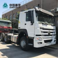China Safe Prime Mover Trailer / Shipping Container Truck 24V Voltage Electric System on sale