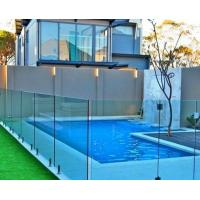 Quality Free design laminated tempered Framless Glass fencing for railling / pool / balcony for sale
