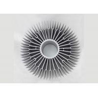 Quality OEM Sunflower 6063 Aluminium Heat Sink Profiles , Round Heat Sink Extrusion for sale