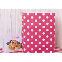 Quality Red Dots Paper Packaging Bags with Handle Gift Bags 8x4.75x10.5 inch Shopping Bag for sale