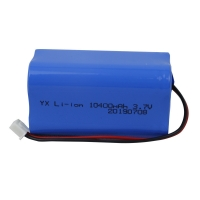 Quality 1000 Cycle UN38.3 10400mAh 3.7V Lion Battery Pack for sale