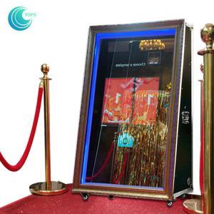 Diy Magic Indoor Mirror Photo Booth , Smart Touch Magic Selfie Mirror