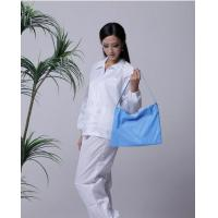 Buy 5mm strip cleanroom lint free washable anti static ESD jacket and pants at wholesale prices