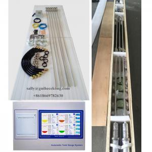 China Magnetostrictive probe diesel fuel tank level gauge / fuel level monitoring system for filling station on sale