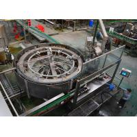 China Beer Bottle Packing Machine / Glass Bottle Wine Filling Machine in Full Automatic on sale