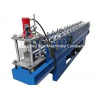 Quality Drywall Partition C U Profile Metal Stud And Track Roll Forming Machine PLC Control for sale