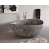 Granite Juparana Grey Natural Stone Bathtub Standard Size 160 X 90 Cm For Bathroom for sale