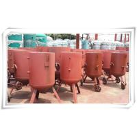 Buy Derusting Media Bead Blasting Equipment , Open Mobile Sandblasting Equipment at wholesale prices