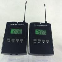 Buy Wireless Headset Microphone System , 008C Long Distance Museum Audio Guide at wholesale prices