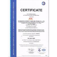 GuangZhou Infinity Case And Truss CO.,LTD Certifications