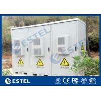 China Three Compartment Outdoor Telecom Cabinet 1000W Cooling Capacity Air Conditioners on sale