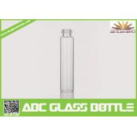 Buy 10ml Long Thin Custom Made Clear Perfume Glass Bottle With Screw Cap at wholesale prices