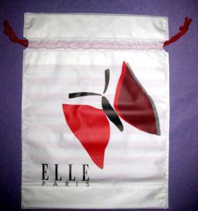 White Drawstring Plastic Bags