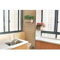 China Decorative Kitchen Wall Covering WPC Wall Cladding SGS Certification For Bathroom on sale