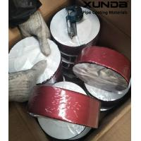 Quality Deep red color aluminium foil butyl rubber waterproof sealing tape for sale