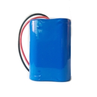 Quality Custom Sanyo 7.4V 1600mAh 18650 Lithium Battery Pack for sale