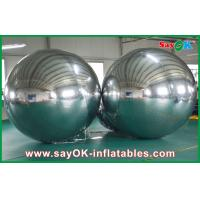 Quality Large Inflatable PVC Mirror Ball Customized Size For Event Decoration for sale