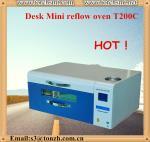 Quality Intelligent economic desk Lead-free high precision  Reflow Oven T200C for sale