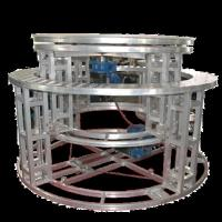 Quality Aluminum Mobile Rotating Stage Platform Hydraulic Revolving Stage For Wedding for sale