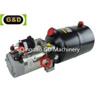 China 10L Oil Tank Single Acting 12V Hydraulic Power Pack with Used for Lift Table for sale
