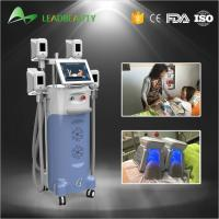 Quality Fat freezing coolshape cryolipolysis cold body sculpting machine with 4handles for sale