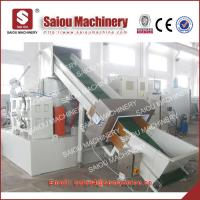 Quality PE plastic film compactor recycling line pp recycling machine for sale